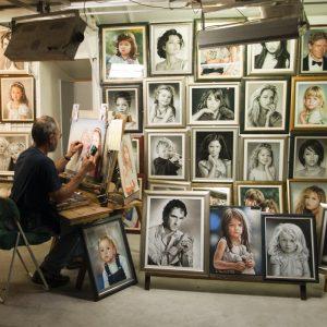 portrætmaler